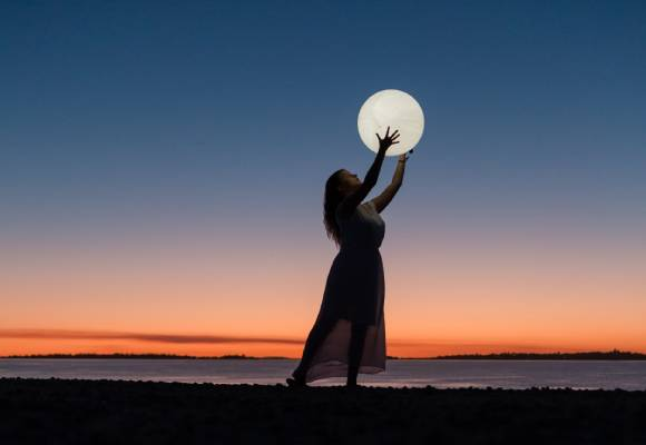 Full Moon Meditation by Radha